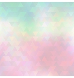 Abstract triangles light pattern vector