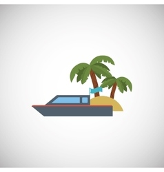 Vacations icon design vector