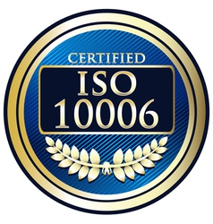 ISO 1006 vector image vector image