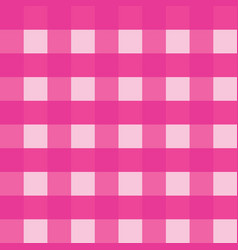 pink gingham tablecloth seamless background vector image vector image