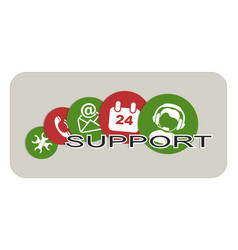 support vector image vector image