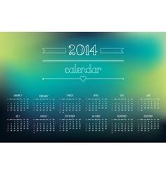 Calendar 2014 3 vector