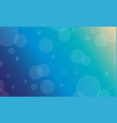 Flat of blue light background vector