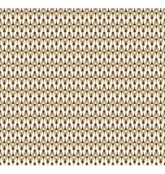 Front knitted fabrics vector image