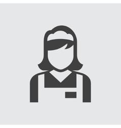 Maid icon vector image