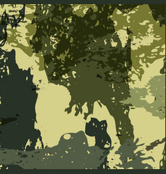 abstract military camouflage background made of vector image