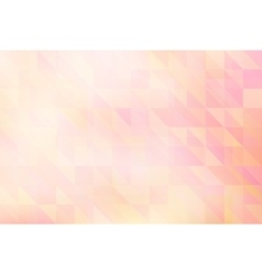 Abstract triangles light pattern vector image