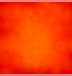 Red blurred light background vector
