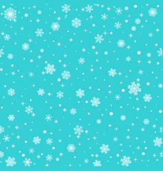 Seamless snowflakes vector