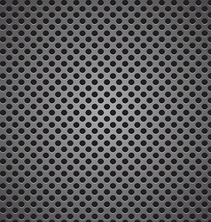 circle perforated carbon speaker grill texture vector image