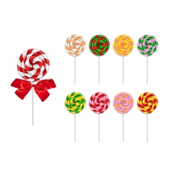 Lollipop collection vector