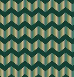 Chevron green foil vector image vector image