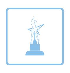 Cinema award icon vector image vector image