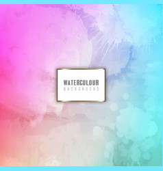Detailed watercolour background vector