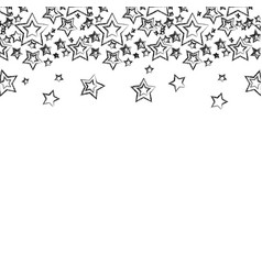 Figure stars christmas decoration backgroud vector