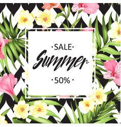 Summer sale card vector