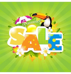 Summer Sale vector image vector image