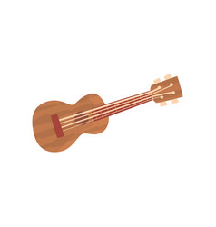 ukulele hawaiian guitar national musical vector image