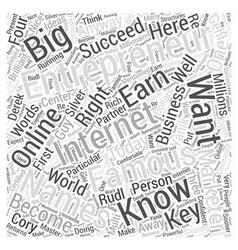 Names of famous entrepreneurs word cloud concept vector