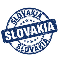 Slovakia stamp vector
