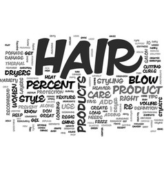 What s your hair iq text word cloud concept vector