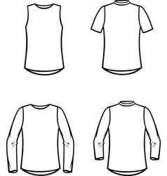 Womens top vector