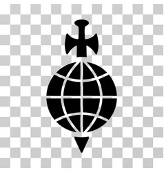 Global guard icon vector