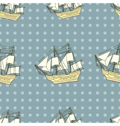 ship background vector image