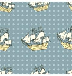 Ship background vector