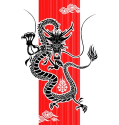Chinese dragon new year vector