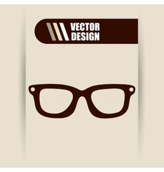 Glasses icon design vector