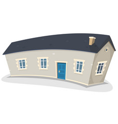 Long house vector