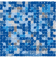 Abstract pattern in shades of blue and gray vector