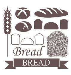Bread Loaf Icon vector image