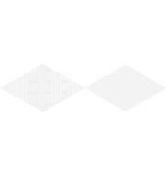 isometric grid line paper isometric grid dots vect vector image vector image