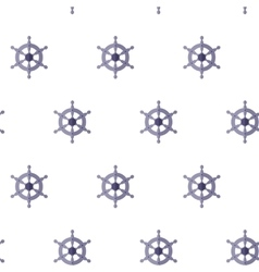 Pattern with helms vector image