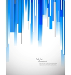 Bright blue tech background vector image