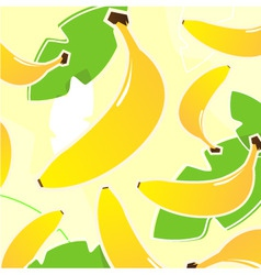 banana vector pattern vector