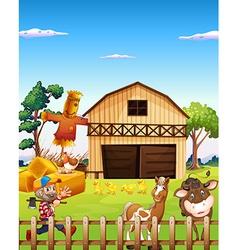 Farmhouse vector