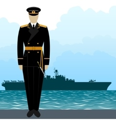 Military uniform navy sailor-9 vector