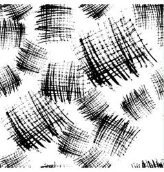 monochrome stroke blocks seamless pattern vector image vector image