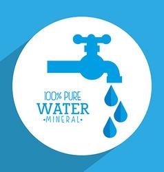Natural water vector
