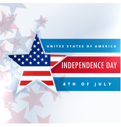 United states of america independence day vector