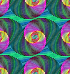 Computer generated swirl fractal pattern vector