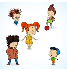 Group children vector