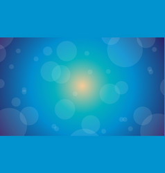 Background of blue light abstract vector