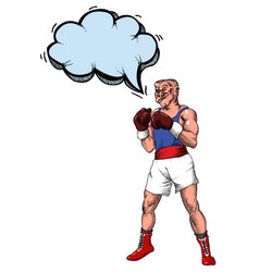 boxer-100 vector image vector image