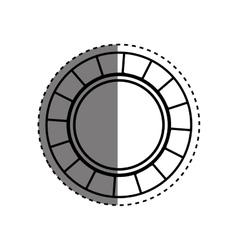 Casino chip concept vector