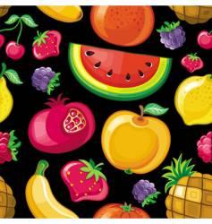 juicy fruit texture vector image