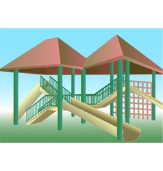 School playground vector